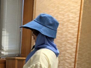 農林女子便利グッズ帽子